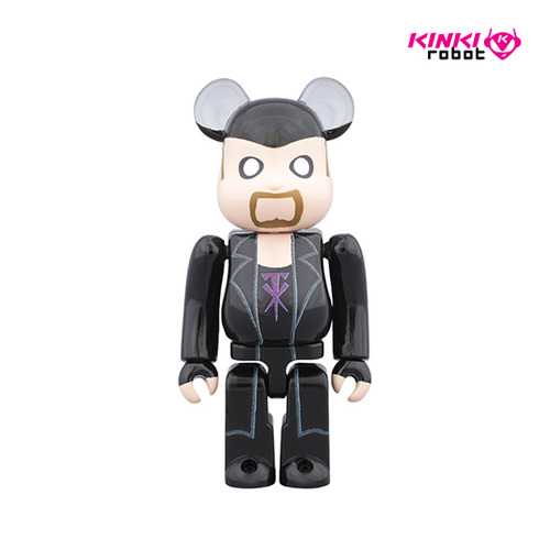 100%BEARBRICK THE UNDERTAKER