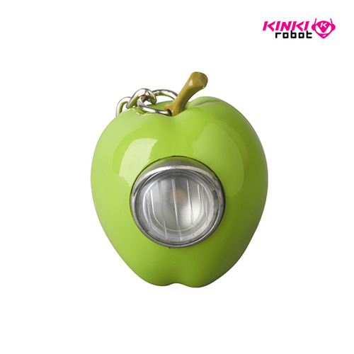 UNDERCOVER GILAPPLE LIGHT KEYCHAIN GREEN