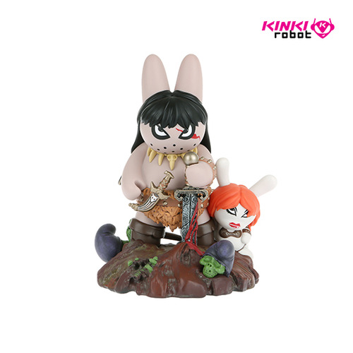 FRAZETTA LABBIT THE BARBARIAN 8""