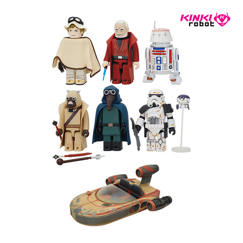 KUBRICK 100% Star Wars DX series 3