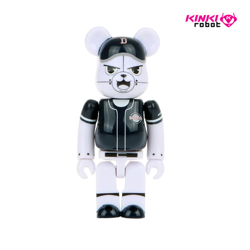 100%BEARBRICK DOOSAN BEARS AWAY