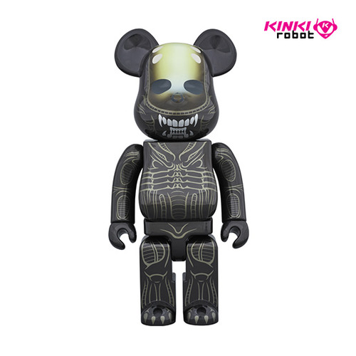 1000%BEARBRICK WARRIOR ALIEN