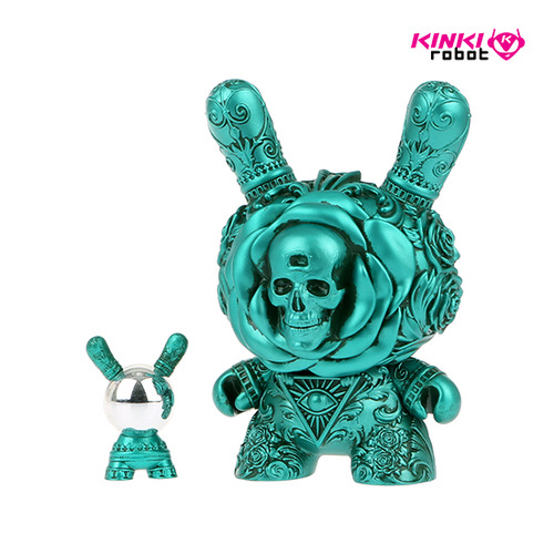 "8""Dunny Arcane Divination The Clairvoyant Teal"