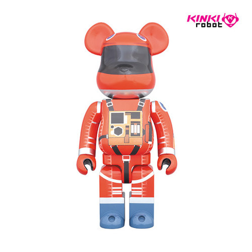 1000% BEARBRICK SPACE SUIT ORANGE VER