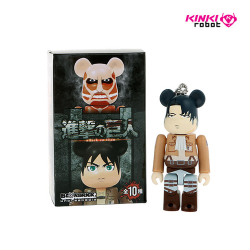 100%BEARBRICK ATTACK ON TITAN BLIND BOX (단품)