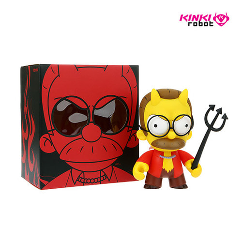 SIMPSONS DEVIL FLANDERS MEDIUM FIGURE