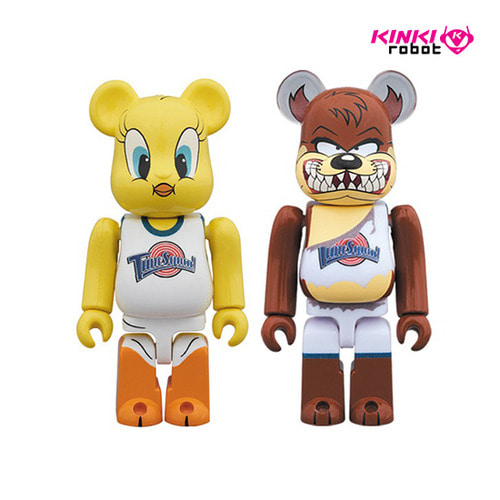 100%BEARBRICK TWEETY&TASMANIAN DEVIL 2PACK(프리오더)