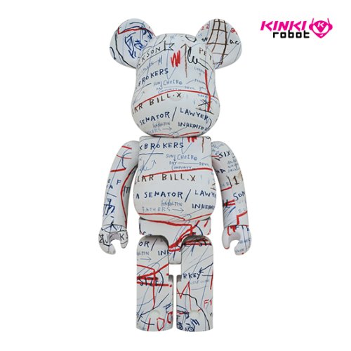 1000%BEARBRICK JEAN-MICHEL BASQUIAT #2
