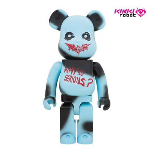 1000%BEARBRICK THE JOKER WHY SO SERIOUS?VER