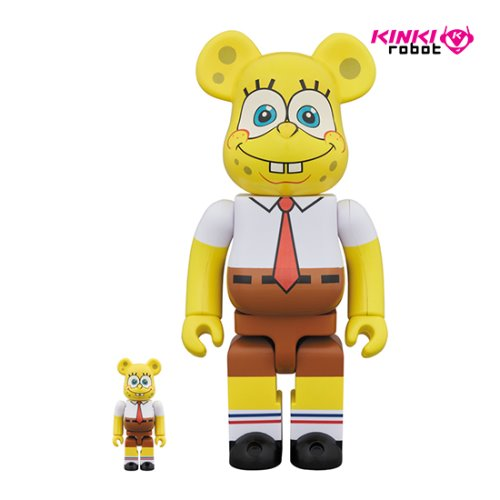 400%+100%BEARBRICK SPONGEBOB
