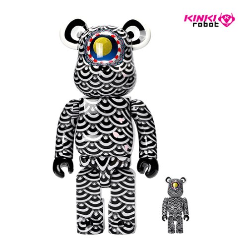 400%+100%BEARBRICK SASADA YASITO X GROUND Y