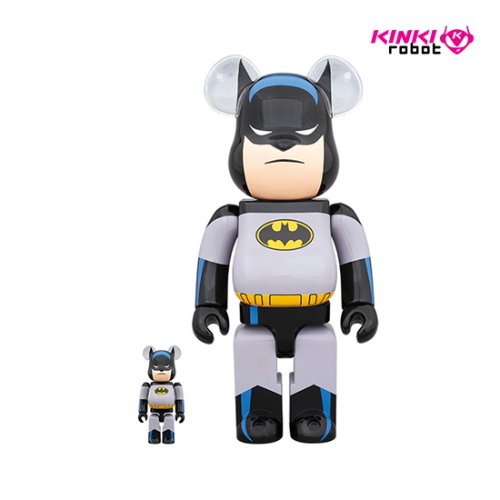 400&100%, 1000%BEARBRICK BATMAN ANIMATED SET (프리오더)