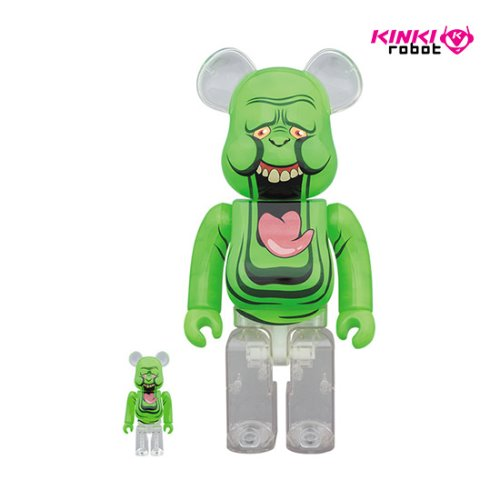 400%&100%BEARBRICK SLIMER(GREEN GHOST) (프리오더)