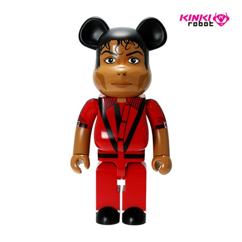 1000%BEARBRICK MICHAEL JACKSON RED JACKET