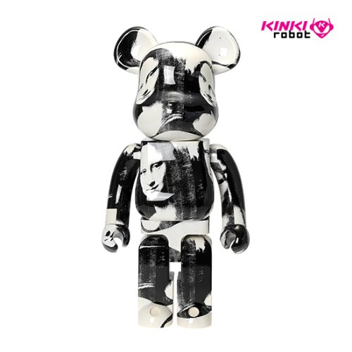 1000%BEARBRICK ANDYWARHOL DOUBLE MONA LISA