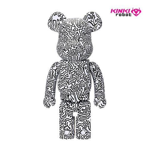 1000%BEARBRICK KEITH HARING #4