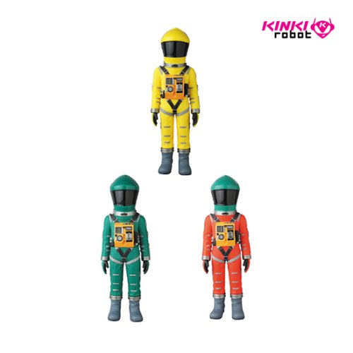 VCD SPACE SUIT YELLOW VER, GREEN VER, GREEN HELMET & ORANGE SUIT VER(프리오더)
