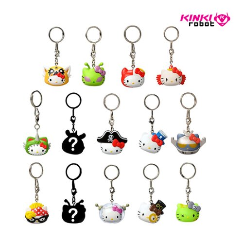 HELLO KITTY TIME TO SHINE KEYCHAINS SERIES (단품)