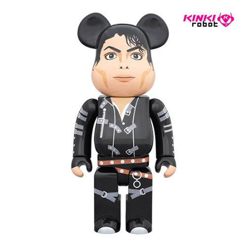 1000%BEARBRICK MICHAEL JACKSON BAD