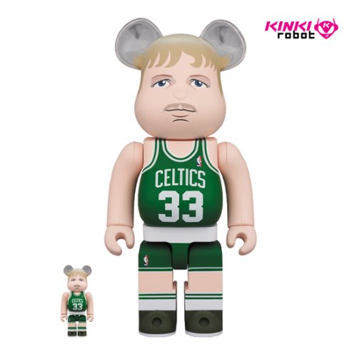 400%+100%BEARBRICK LARRY BIRD (BOSTON CELTICS) (프리오더)