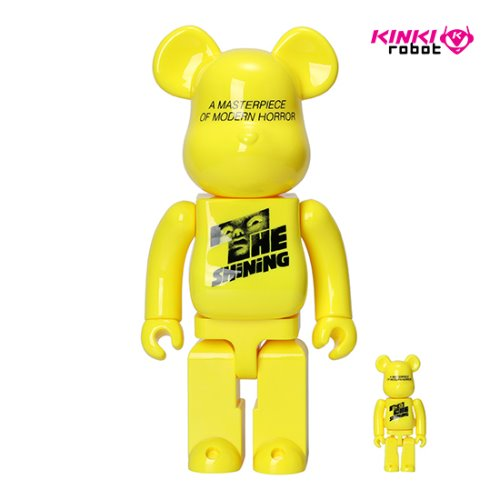 400%&100%BEARBRICK THE SHINNING POSTER VER