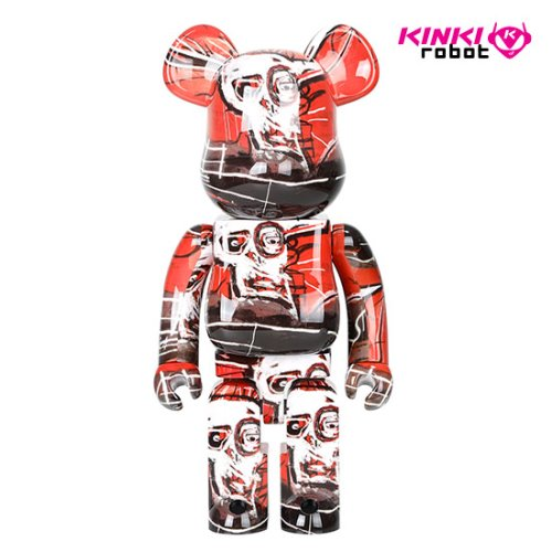 1000%BEARBRICK JEAN MICHEL BASQUIAT #5