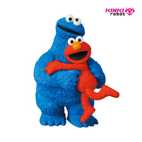 UDF SESAME STREET SERIES 2 : ELMO&COOKIE MONSTER (프리오더)