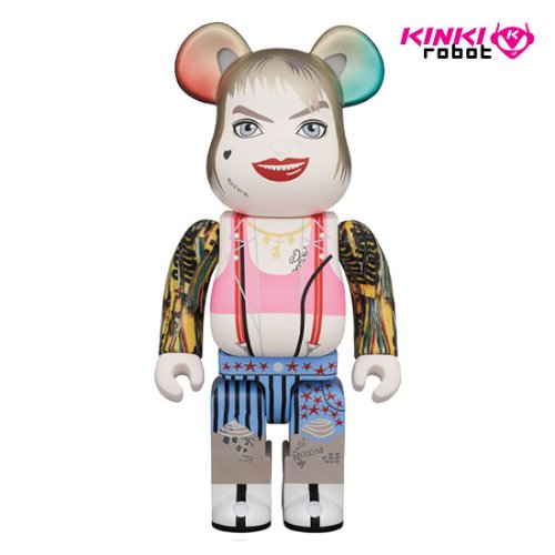 400%BEARBRICK HARLEY QUINN BIRDS OF PREY