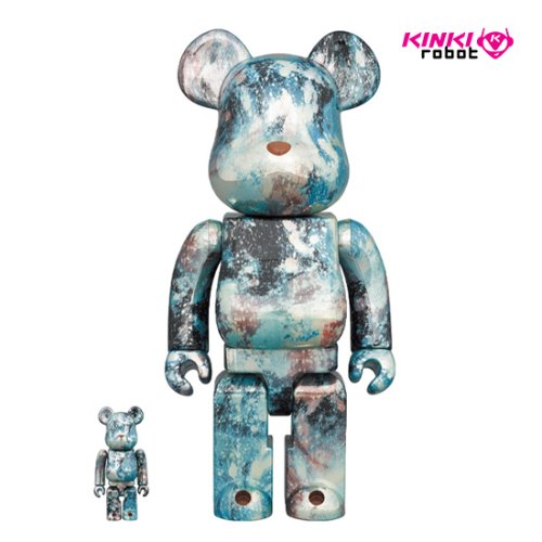 400%+100%BEARBRICK PUSHEAD #5