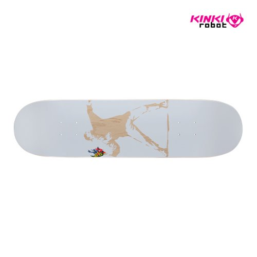 "BRANDALISM SKATEBOARD DECK ""FLOWER BOMBER"" 5th (ASIA ONLY)"