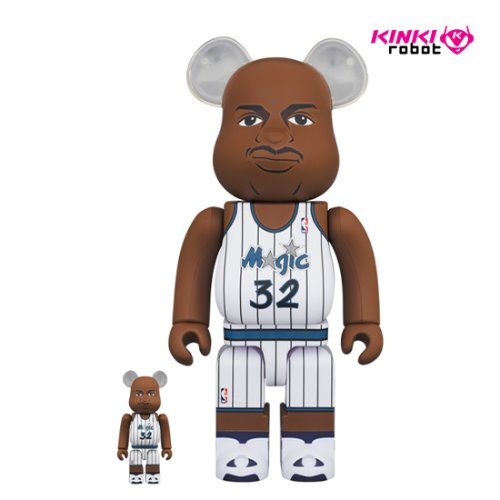 400%+100%BEARBRICK Shaquille O'Neal (Orlando Magic) (프리오더)