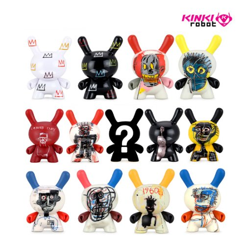 "BASQUIAT FACES 3"" DUNNY MINI SERIES"