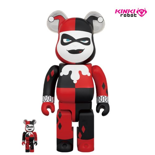 400%+100%BEARBRICK HARLEY QUINN (BATMAN THE ANIMATED SERIES VERSION)