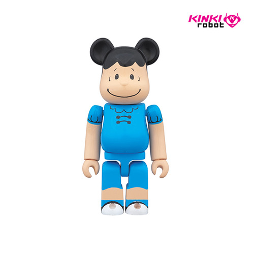 100% BEARBRICK PEANUTS LUCY