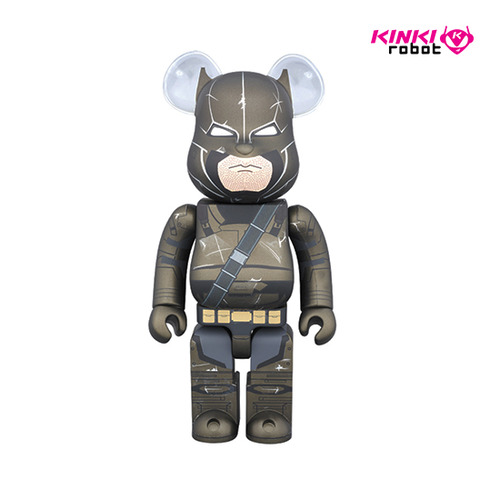 400% BEARBRICK BATMAN ARMORED