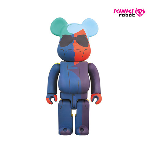 1000% BEARBRICK ANDY WARHOL SILK SCREEN VER