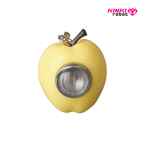 UNDERCOVER GILAPPLE LIGHT KEYCHAIN YELLOW