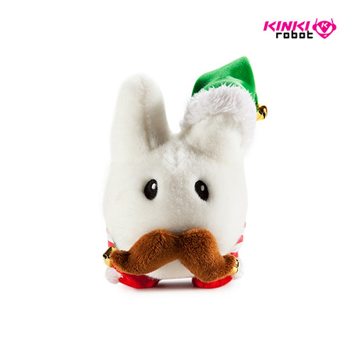 7inch Labbit Elf Holiday Plush