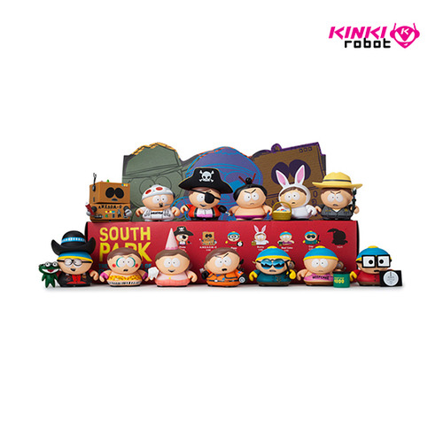 3INCH SOUTH PARK MANY FACES OF CARTMAN BLIND BOX MINI SERIES