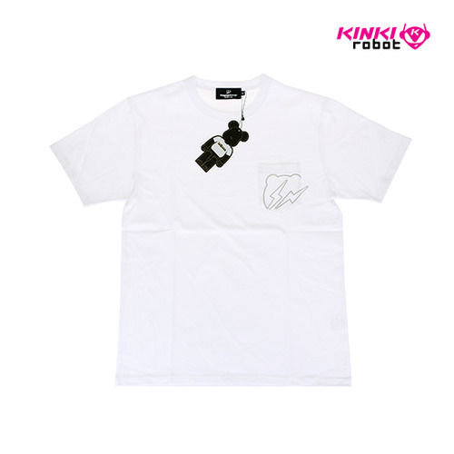 BEARBRICK X FRAGMENT TEE WHITE