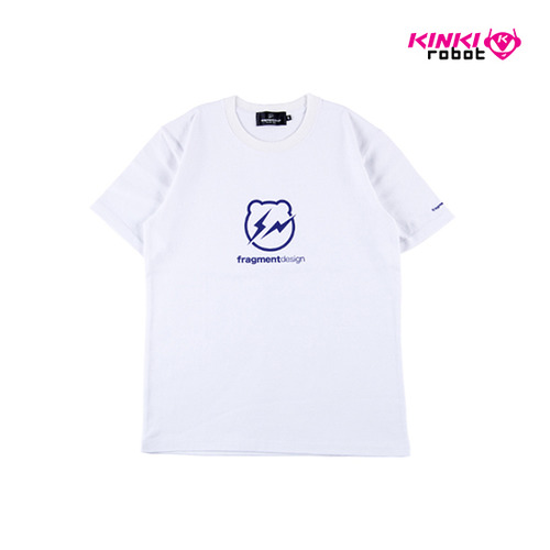 BEARTEE FRAGMENT DESIGN LOGO WHITE