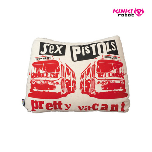 SEXPISTOLS PRETTY VACANT PLUSH CUSHION