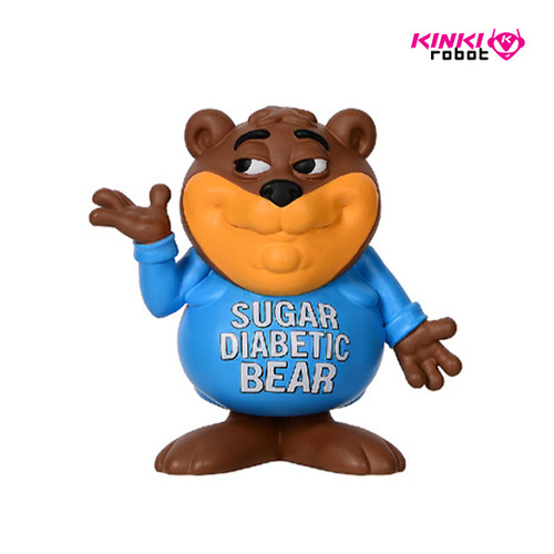 RON ENGLISH_SUGAR DIABETIC BEAR MINI FIGURE