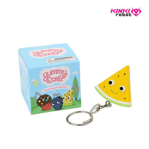 Yummy World Fresh Friends Keychain Series (단품)