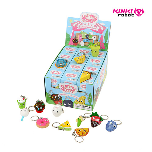 Yummy World Fresh Friends Keychain Series (홀케이스)