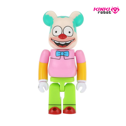 100%BEARBRICK KRUSTY THE CLOWN