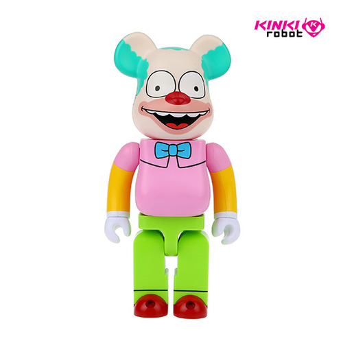 400%BEARBRICK KRUSTY THE CLOWN