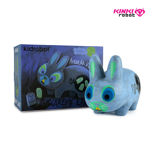 SCAREDY LABBIT BY AMANDA VISELL LIGHT 10""