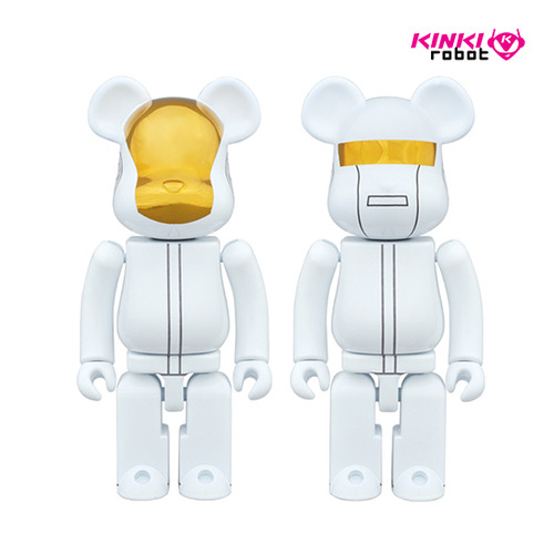 200% BEARBRICK DAFTPUNK WHITE SUIT VER