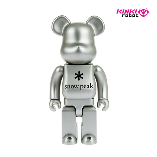 400%BEARBRICK SNOW PEAK